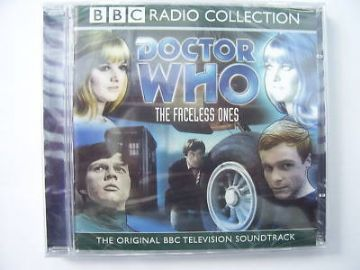 Doctor Who The Faceless Ones CD Audio Soundtrack SEALED